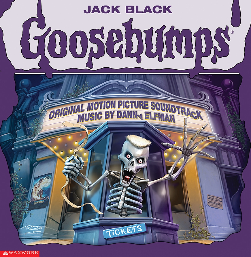 Goosebumps Soundtrack Album Cover