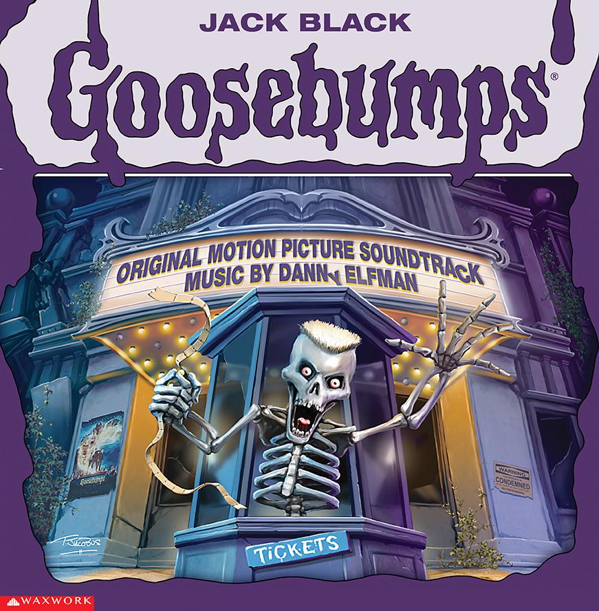 Goosebumps Soundtrack Album Cover